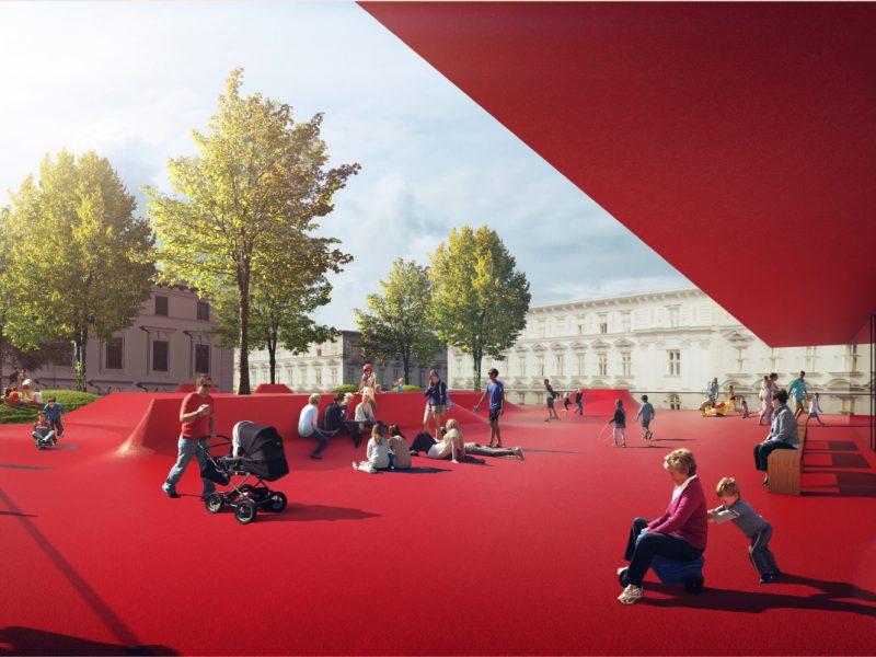 idealice_Rathausstraße (Visualisierung: Franz Architekten)