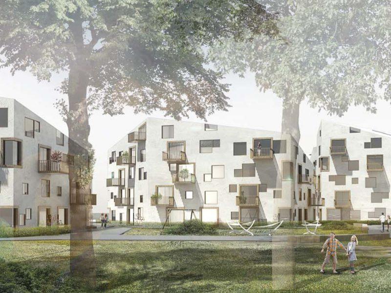 idealice_Wohnen am Hartenbergpark_(Visualisierung: LOVE architecture and urbanism)