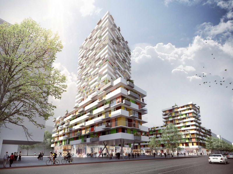 idealice_Dresdnerstraße_Visualisierung: querkraft