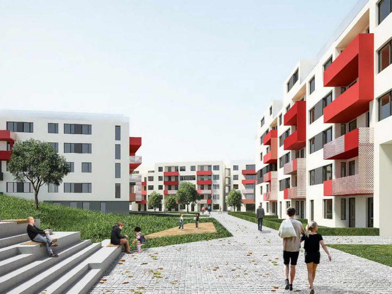 idealice_Schwechat_Visualisierung: pfeil architekten