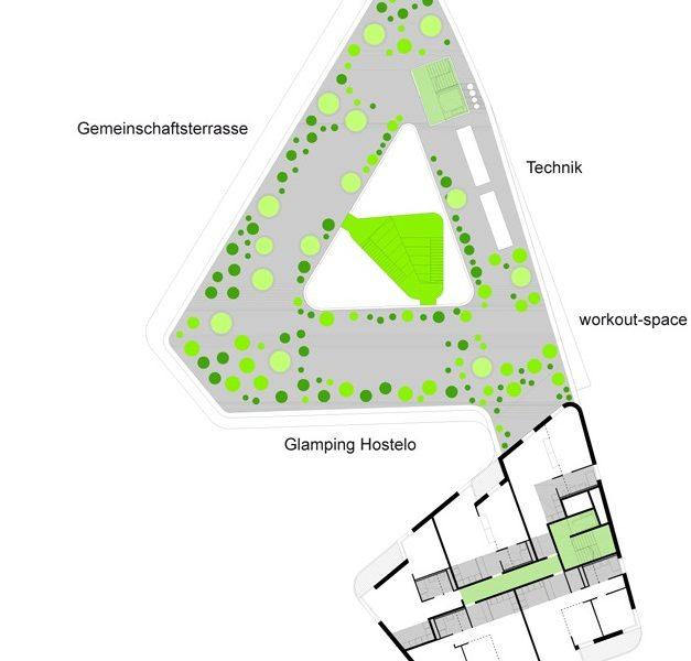 idealice_Quartiershaus Hauptbahnhof Bauplatz 20A_1. OG